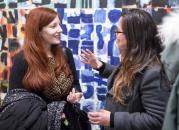 Emilie Sullivan and Julie McKim of Galapagos Art Space
