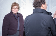 Donna De Salvo, Chief Curator and Deputy Director for Programs, with Adam Weinberg